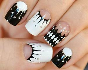 Black and White Nails | nails10