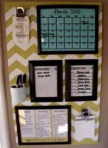 Organization Board Family Command Center Girl Loves Glam