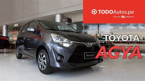Review Toyota Agya by Toyota Agya 2018 Review Interior Exterior Todoautos Pe
