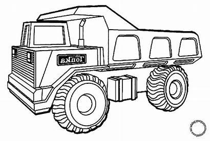 Mewarnai Truck Gambar Mobil Anak Coloring Dump
