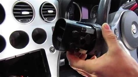 alfa  air vent removal youtube