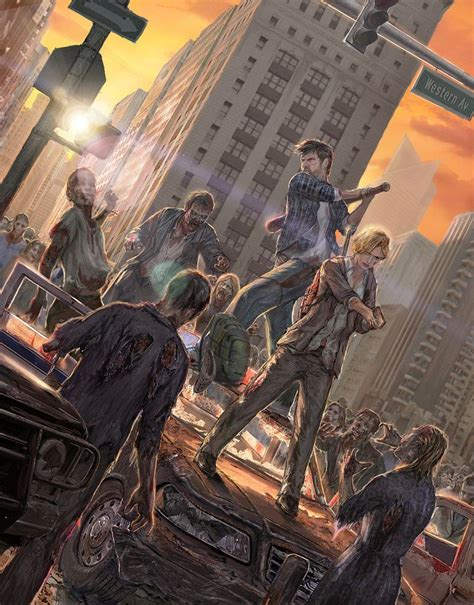 apocalypse zombie attack tan anime survivor deviantart artwork manga