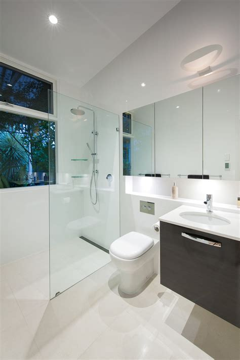 Bathrooms Design by Light Minimalist And Contemporary Bathroom Design