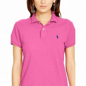 Polo Ralph Lauren Classic-fit Polo Shirt in Pink (maui ...
