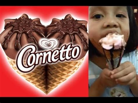 cornetto strawberry ice cream cone walls thailand