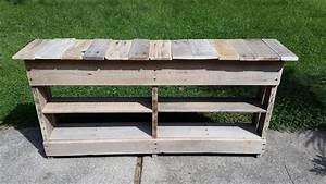 DIY Pallet Entryway Table and Shoe Rack 101 Pallets