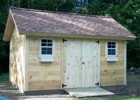 Free Shed Blueprints 12x12 by Custom Gable Shed Plans 12 X 12 Shed Detailed Building