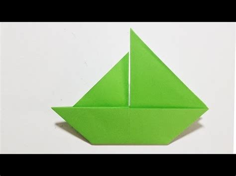 How To Make A Paper Boat Easy Youtube by Easy Origami How To Make A Paper Boat Origami Youtube