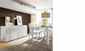 Salle A Manger Blanc Laqué : salle manger blanc laqu design ~ Dallasstarsshop.com Idées de Décoration