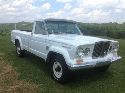 jeep gladiator 4 door 1966 jeep gladiator j3000 4x4 truck vintage condition 50th