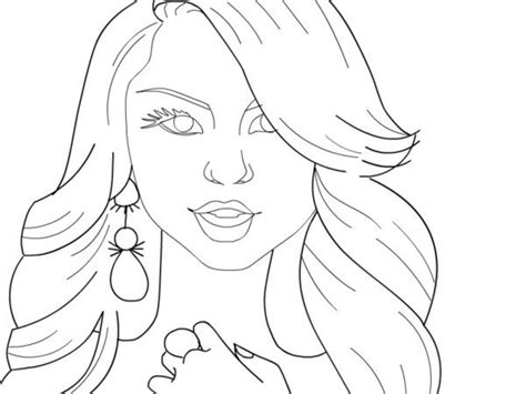 2 Zendaya Drawing Coloring Page For Free Download On Ayoqq.org