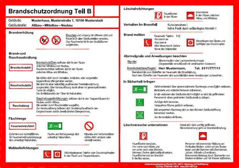 brandschutzordnung  bild shkwissen haustechnikdialog