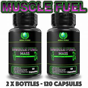 120 High Strength Capsules Muscle Growth Sex Drive Testosterone Booster Pills