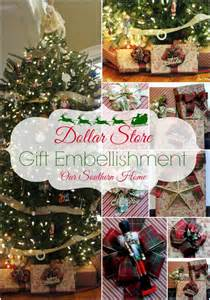 dollar store gift wrap ideas our southern home