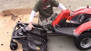 Deck Installation Instructions For Husqvarna R220t And