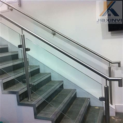 customized tempered glass interior stair railing interior tempered glass railings with stainless steel