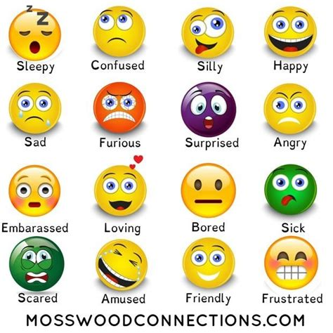 Feelings And Emotions Scavenger Hunt A Social Skills Activity • Mosswood Connections
