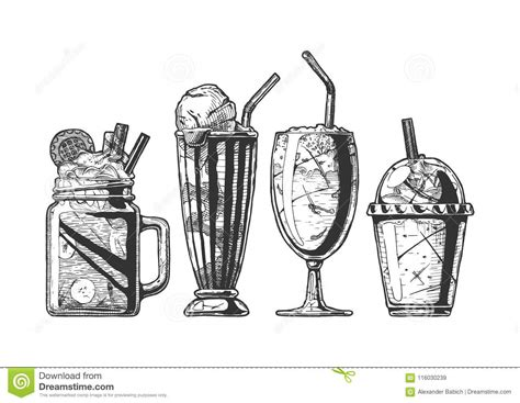 milkshake cartoons illustrations vector stock images