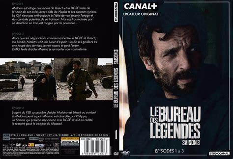le bureau saison 1 jaquette dvd de le bureau des légendes saison 3 dvd 1