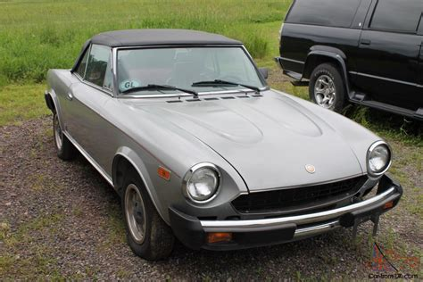 Fiat 2000 Spider by 1980 Fiat Spider 2000 Fuel Injected