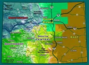 Rockhounding Colorado Sites Map