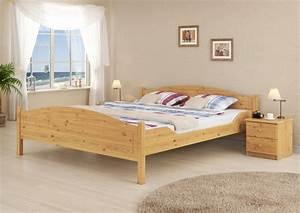 Doppelbett Holz 180x200 : massivholz doppelbett kiefer natur 180x200 ehebett mit matratze und rollrost m ~ Frokenaadalensverden.com Haus und Dekorationen