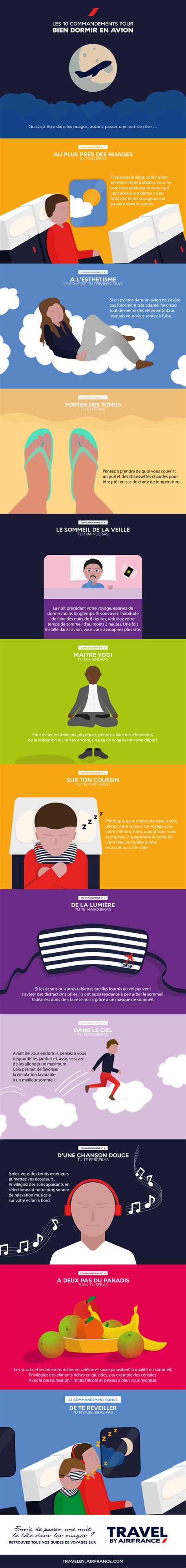 Pour Dormir En by Les 10 Commandements Pour Bien Dormir En Avion