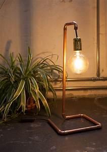 Lampe Aus Kupferrohr : diy lampe im industriedesign ~ Frokenaadalensverden.com Haus und Dekorationen
