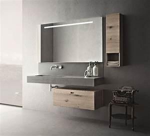 Meuble de salle de bain contemporain novello carrelage for Meuble de salle de bain contemporain