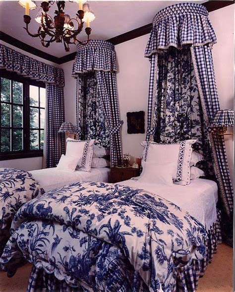 Blue Bedroom  Bedrooms  Pinterest  Toile, Guest