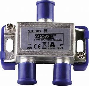 Kabel Tv Verteiler : kabel tv verteiler schwaiger vtf8822 2 fach 5 1000 mhz kaufen ~ Orissabook.com Haus und Dekorationen