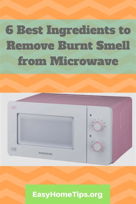 Remove Burnt Smell from Microwave isn't A Big Deal
