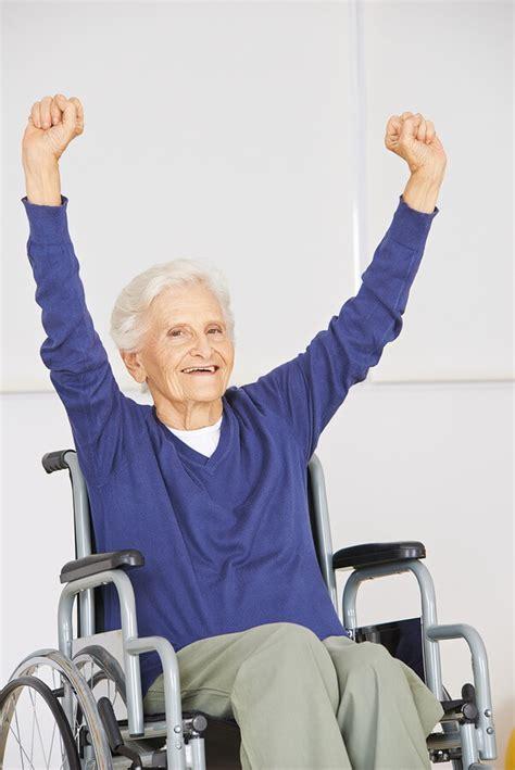 wheelchair exercises for seniors caregivers
