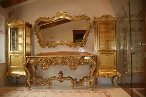 Arredamento stile veneziano barocco design casa creativa for Mobili in stile barocco