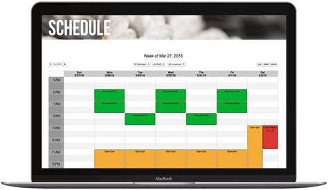 personal training software  client management