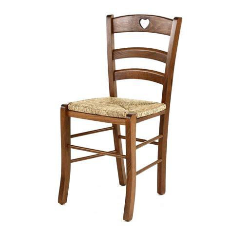 chaise en bois et paille chaise paille