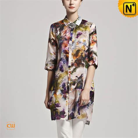 half sleeve blouse cwmalls half sleeve mulberry silk blouse cw102539