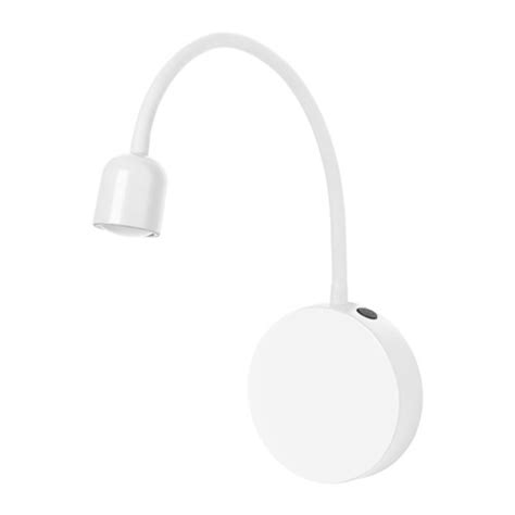 bl 197 vik led wall l battery operated white ikea