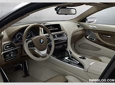 BMW 6 Series Coupe Concept The Interior