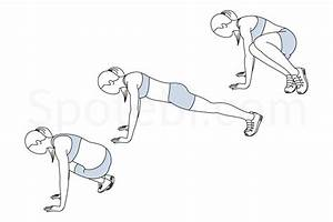 Ski Abs | Illustrated Exercise Guide