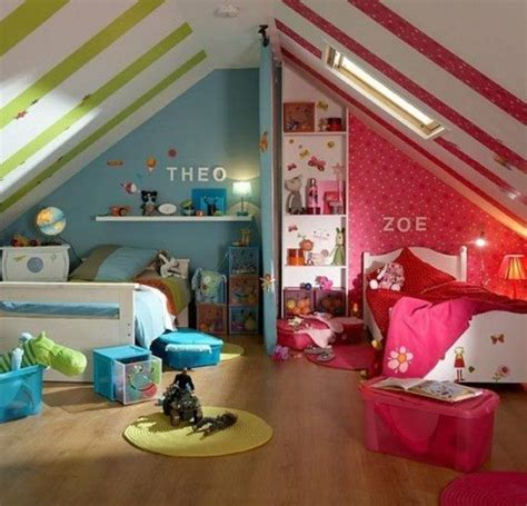 12 Blue And Pink Shared Kids' Rooms Kidsomania