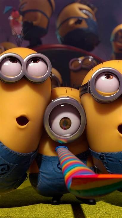 Cartoon Minions Funny Movies Yellow Animation Wallpapers