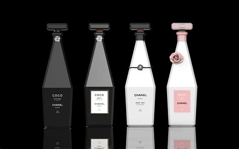 champagne de chanel  packaging   world creative