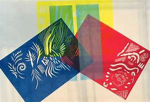 Colour Lino Printing Workshop Review