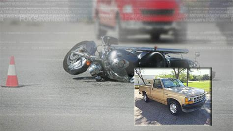 Fatal Hit-and-run Motorcycle Crash; Alcohol Involved