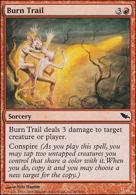 burn trail shm mtg card