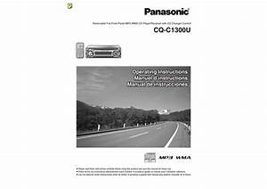 Panasonic Cq C1300u Wiring Diagram