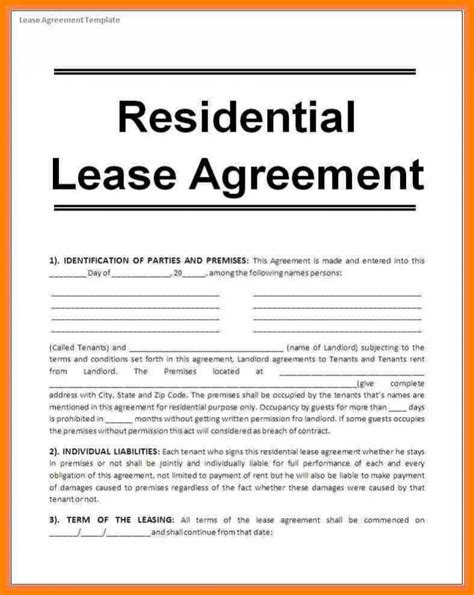 rent agreement format  main group
