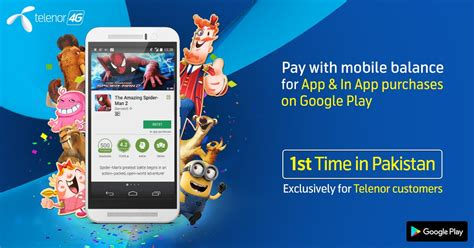 Telenor Users Can Buy Apps, Games On Google Play Store