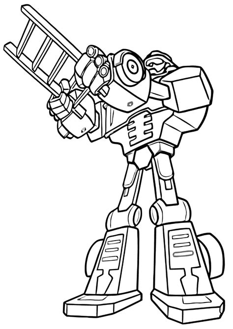 rescue bots coloring pages coloring pages